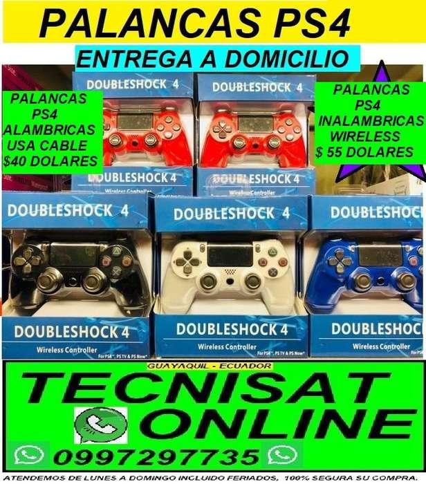 PALANCA MANDO CONTROL PLAY STATION 4 PS4, ALAMBRICAS 40 E INALAMBRICAS 55 DUALSHOCK 4