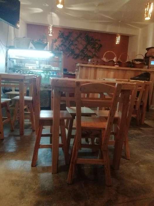 Se Vende Montaje de Restaurante O Cafete