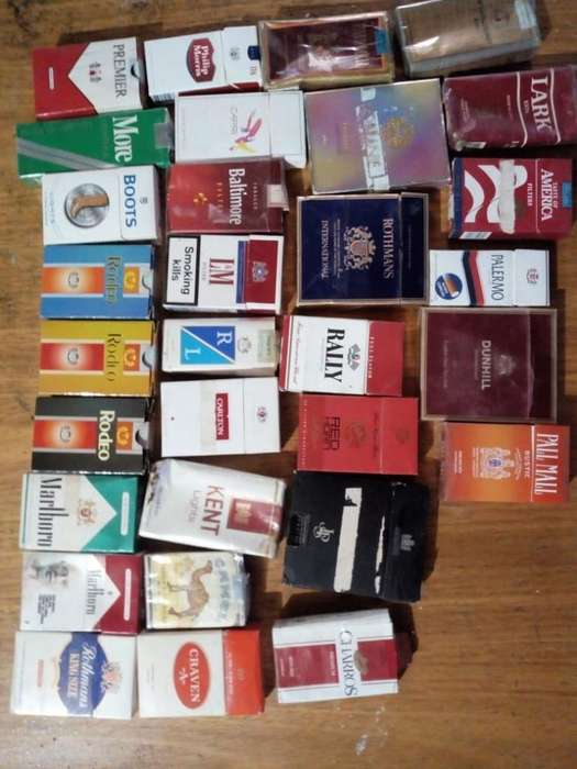 Solo Vendo Cajas de Cigarrillos