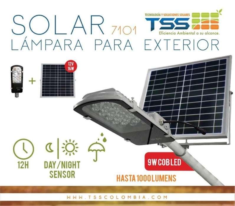 Lamparas Solares Tss