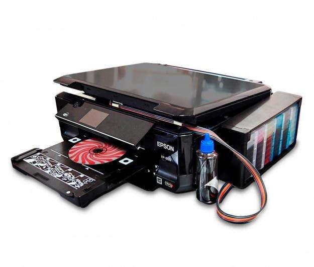 IMPRESORA DE CDS MULTIFUNCION EPSON XP 600 CON TINTA CONTINUA WIFI