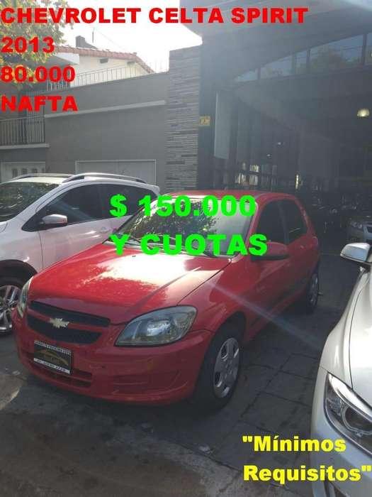 Chevrolet Celta 2013 - 80000 km
