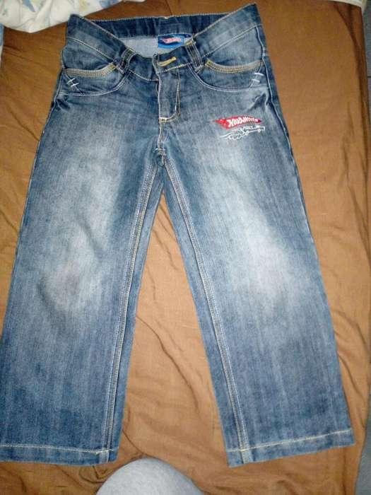 Pantalon Jean Hotwheel Talla 4