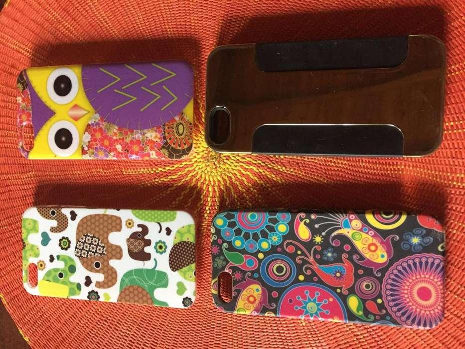 Fundas para Iphone 5 y 5S nuevas y usadas en Pilar