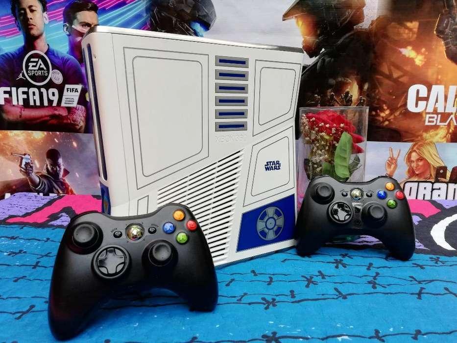Espectacular Xbox360 Slim 5.0 Como Nuevo