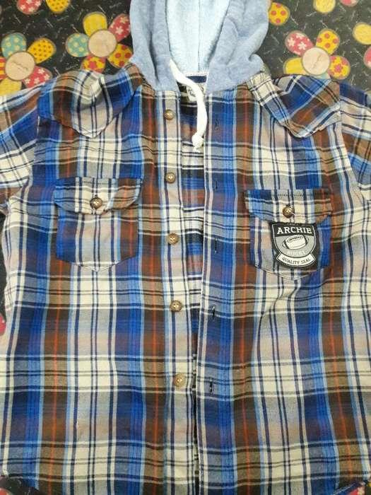 Camisa Archie Talle 6 Niño