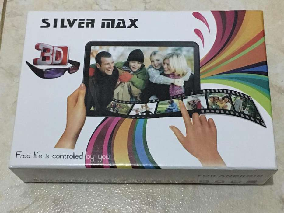 TABLET SILVER MAX 3D