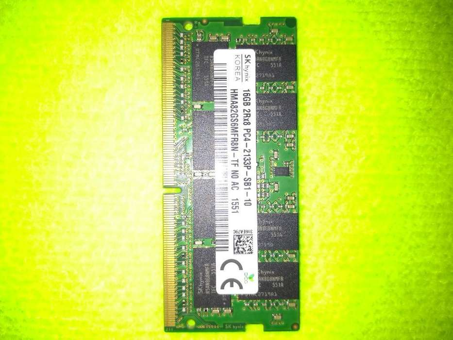 Memoria Ram Ddr4 16 Gb para Portátil