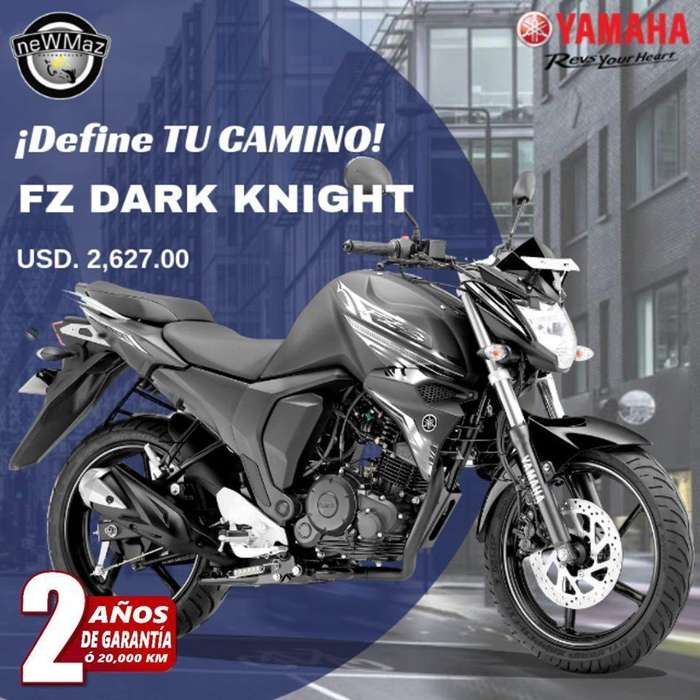MOTO YAMAHA FZ 2019 DARK NIGHT - FINANCIADA