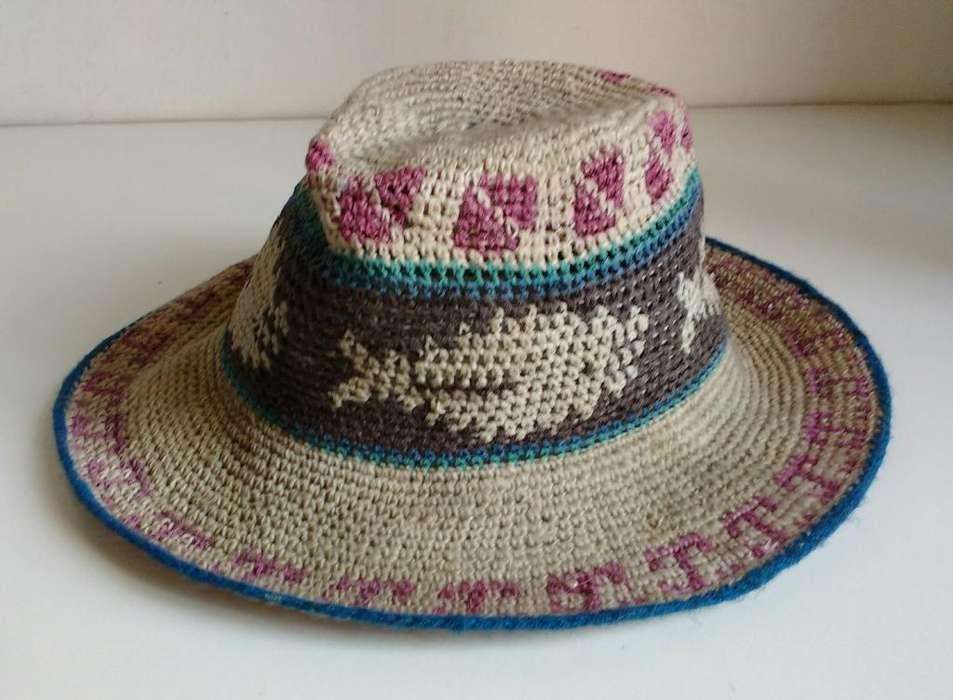 Sombrero tipo panama tejido de playa o salida usado olxjess la boca