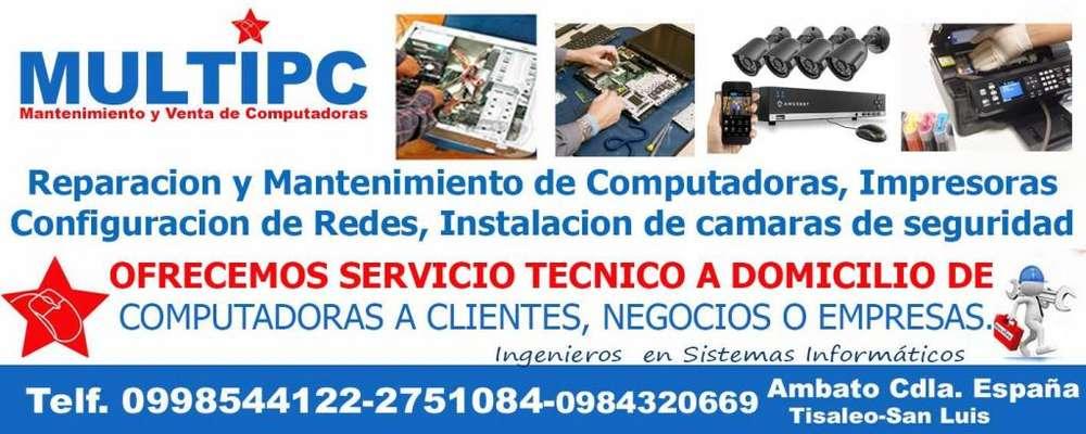 MANTENIMIENTO Y VENTA DE COMPUTADORAS