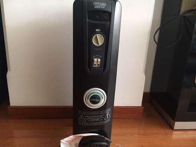 Calentador Electrico Delonghi Modelo EW 7707CB de 1500watts
