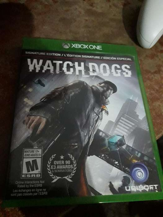 Watch Dogs Xbox One Edicion Especial