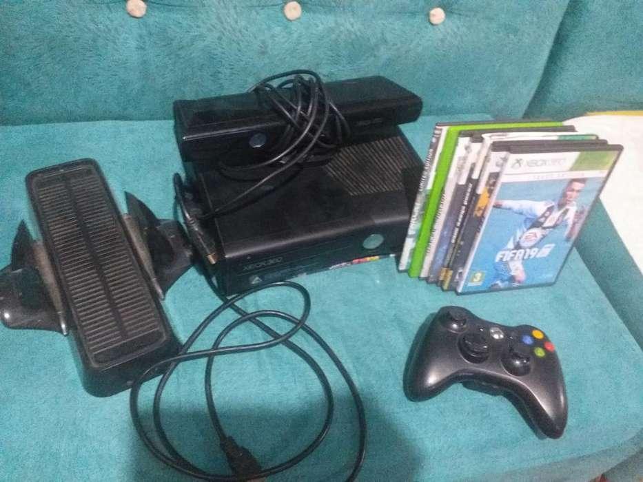 Xbox 360 con El Kinet Todo Flama Negocia