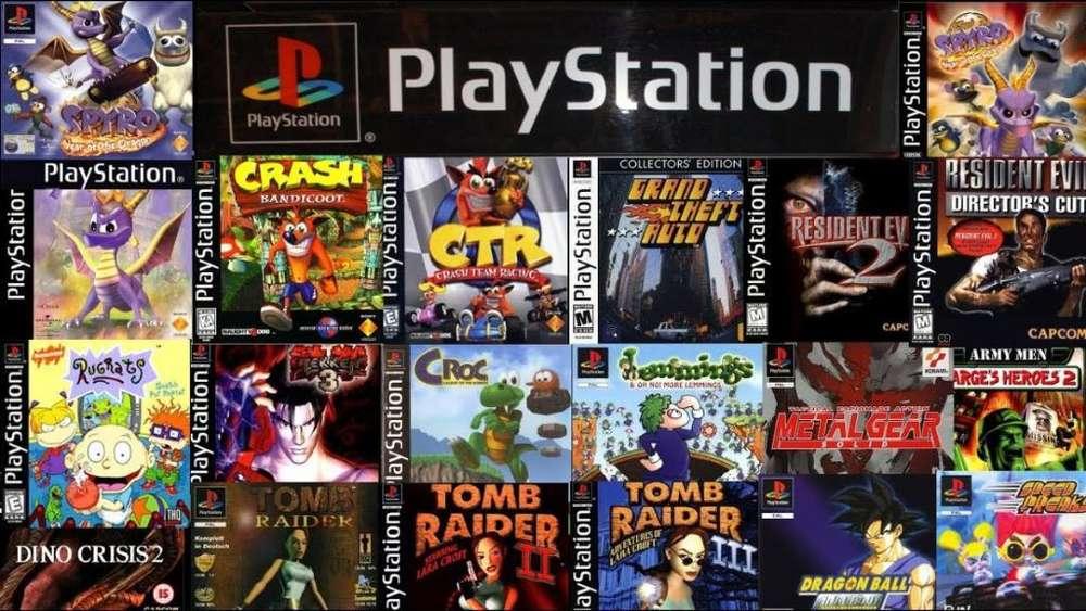 Juegos de Play Station 1