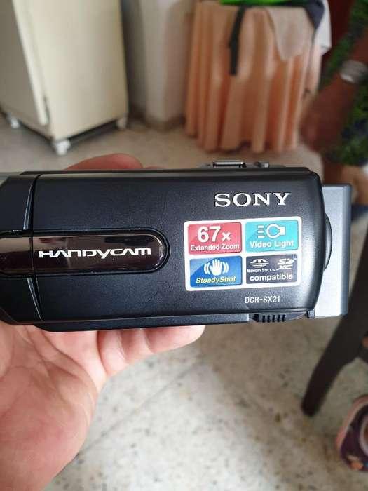 Sony Filmadora Dcr-sx21