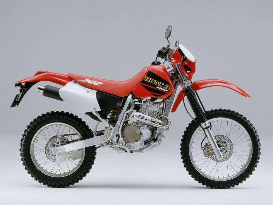 Honda XR 400 manual de taller para motos Honda