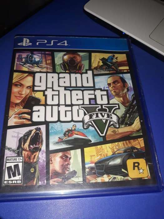 Grand Theft Auto V Ps4 Incluye Mapa