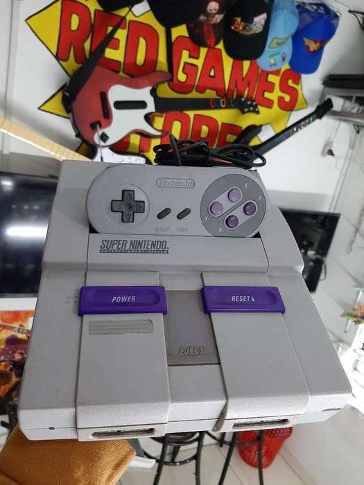 Super Nintendo Full Estado sin Juegos