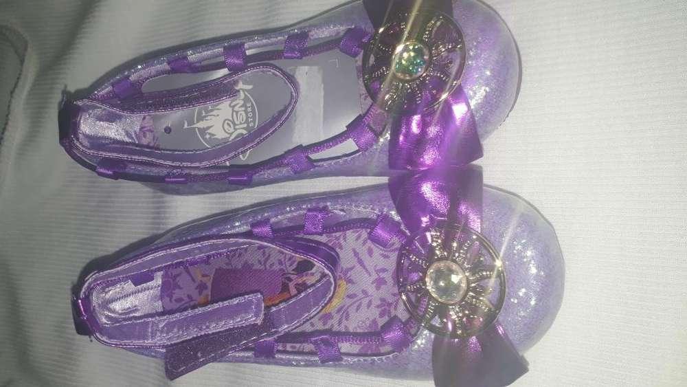 zapatos de rapunzel disney original 100