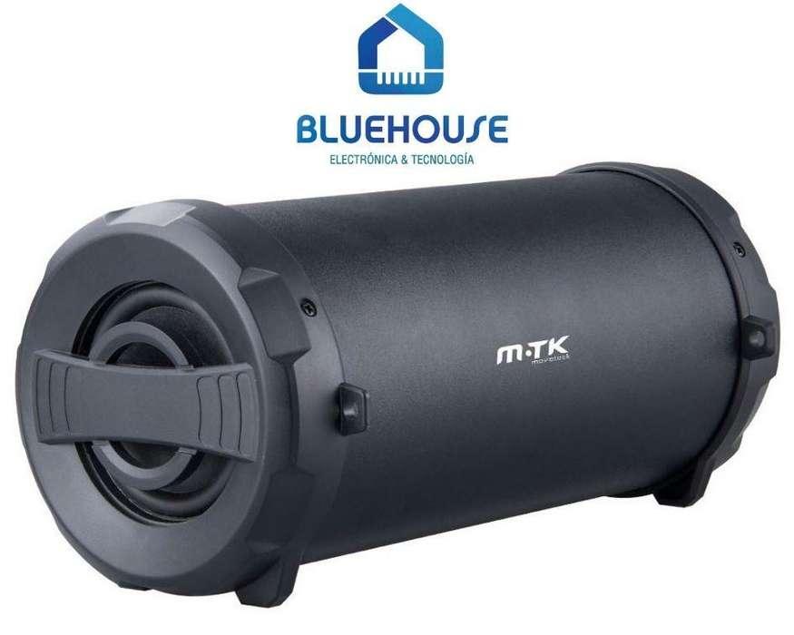 Parlante Speaker Bazooka Subwoofer BT M.TK K3460