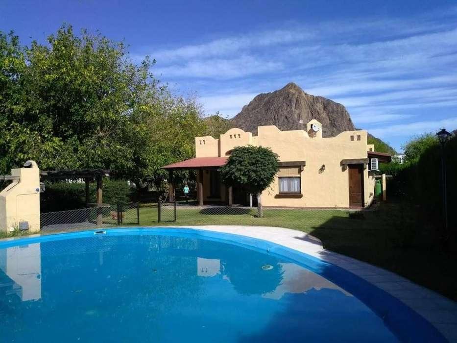 pe00 - Casa para 2 a 6 personas con pileta y cochera en Valle Grande o Cañon del Atuel