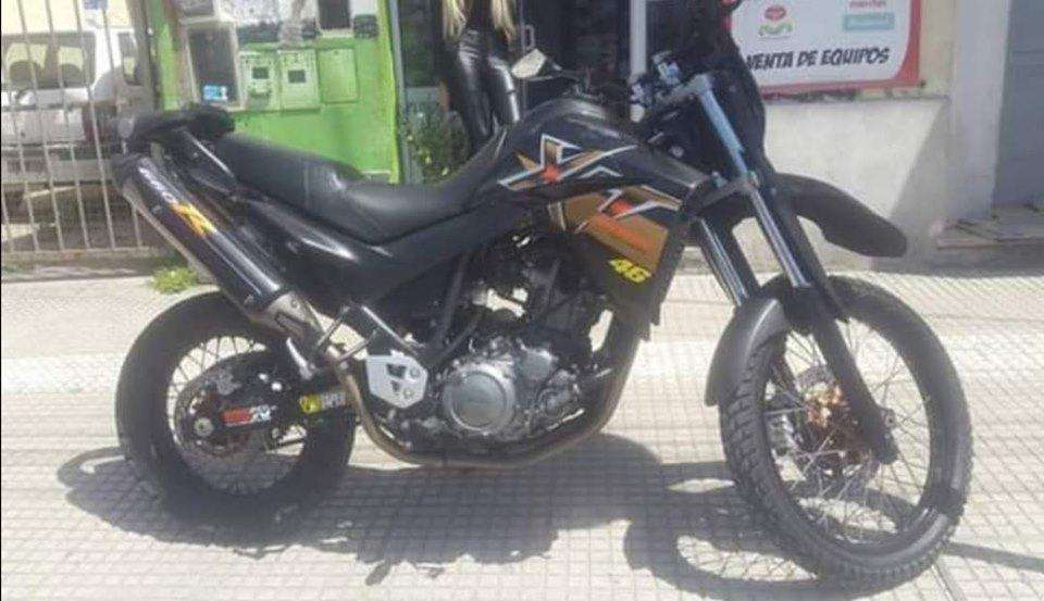 Yamaha xt660r año 2008