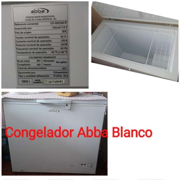 Congelador Abba Blanco