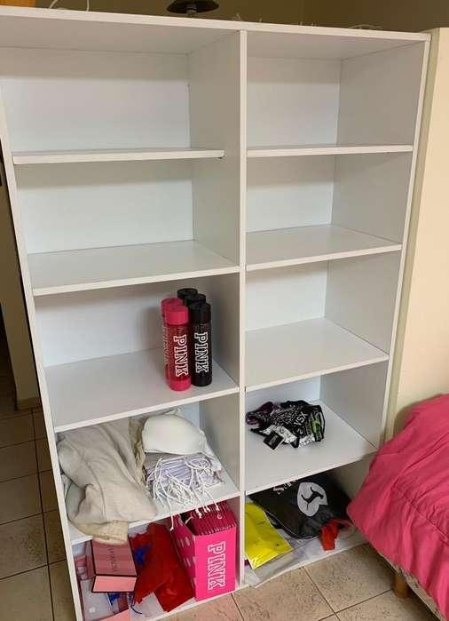 Mueble Estantero Melamina Blanco