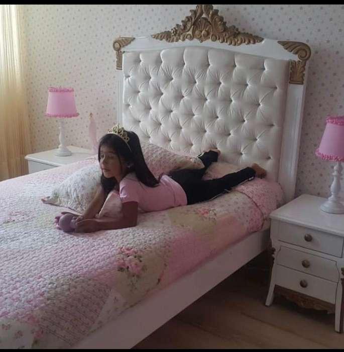 <strong>cama</strong> Tallada de Princesa