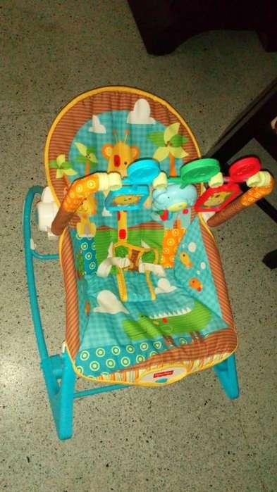 silla mecedora vibradora fisher price ECONOMICO