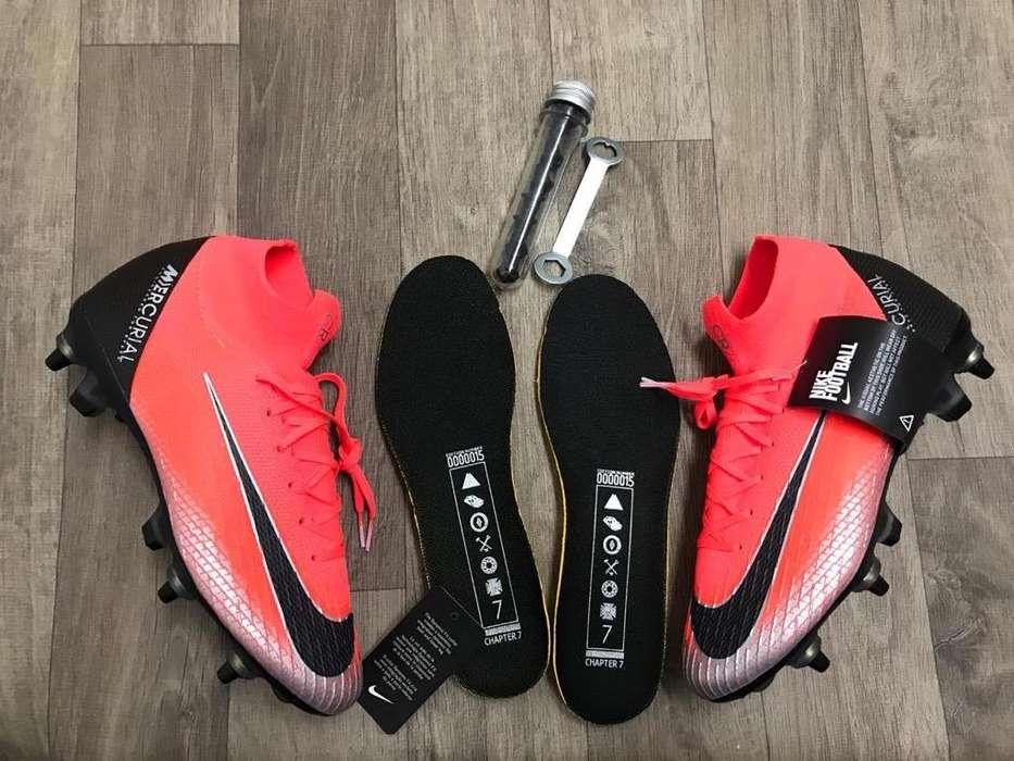 Guayos para Fútbol con Tachesde Aluminio