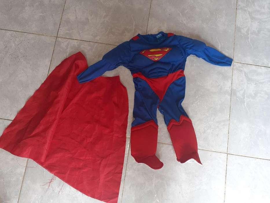 Disfraz de Superman Talla 12-18 Meses