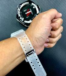 Reloj G Shock Sumergible, Trasparente