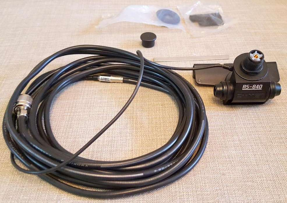 Base Para Antena Comet Rs 840 Con Cable En Paquete