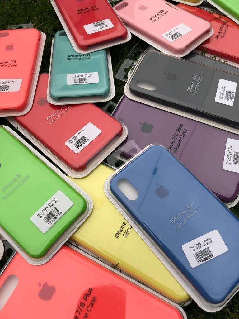 Fundas Silicone Case iPhone