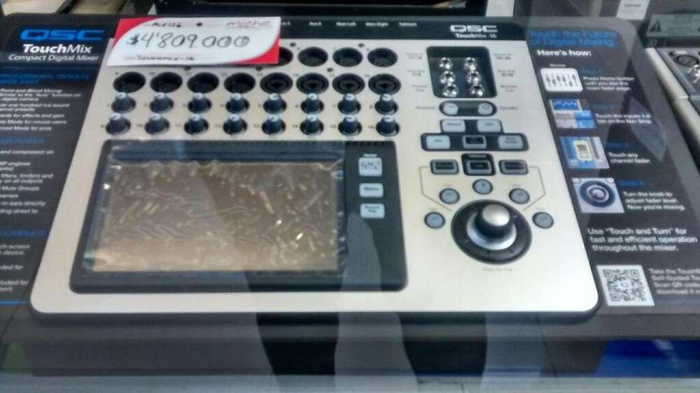 Qsc Touchmix de 16 Canales