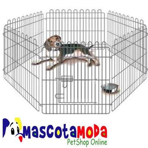 Corral metálico para perros y cachorros protección y seguridad <strong>jaula</strong>
