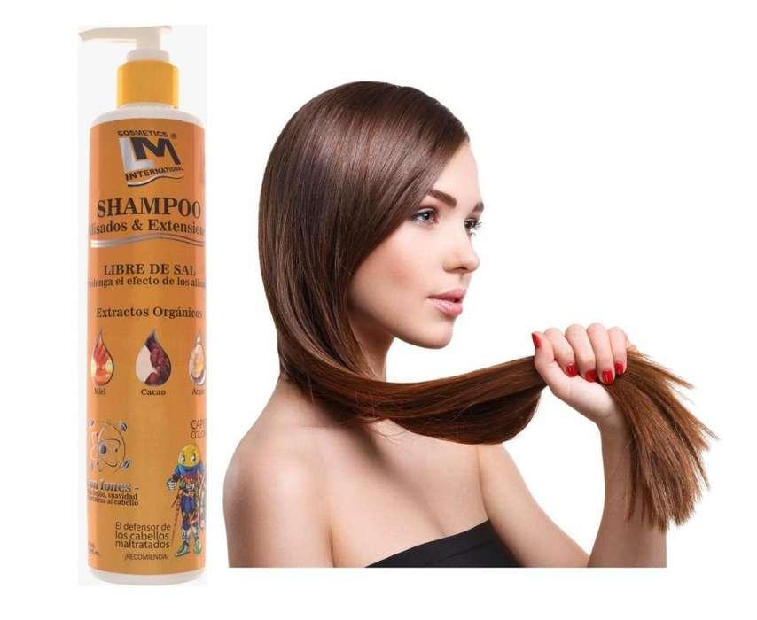 Shampoo Alisados y Extensiones LM con Iones Negativos x 340ml