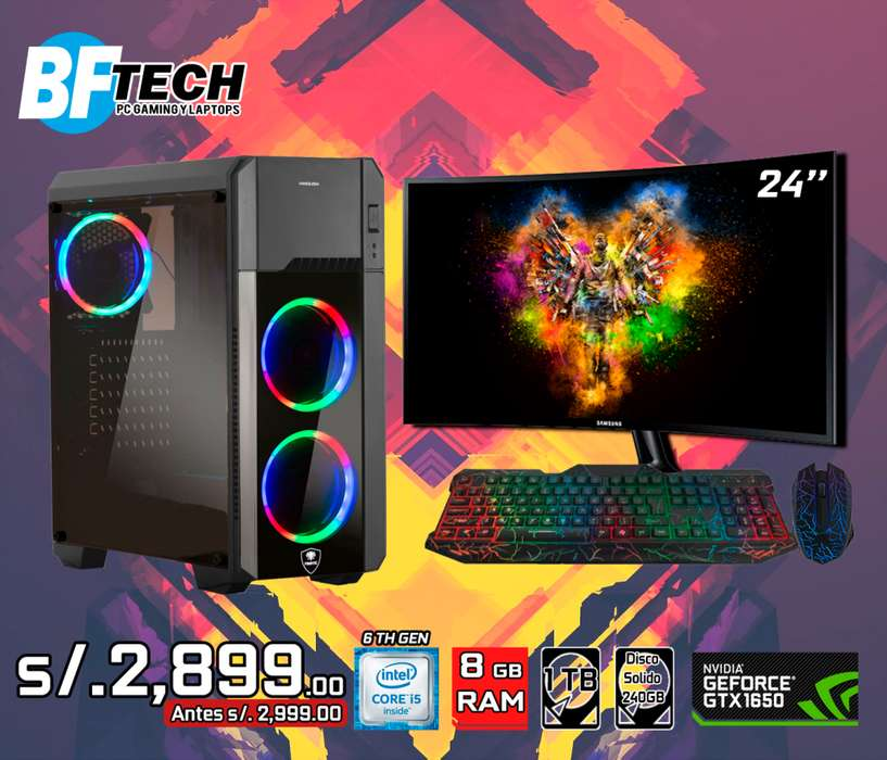 PC GAMING INTEL CORE I5 6TH GEN 14