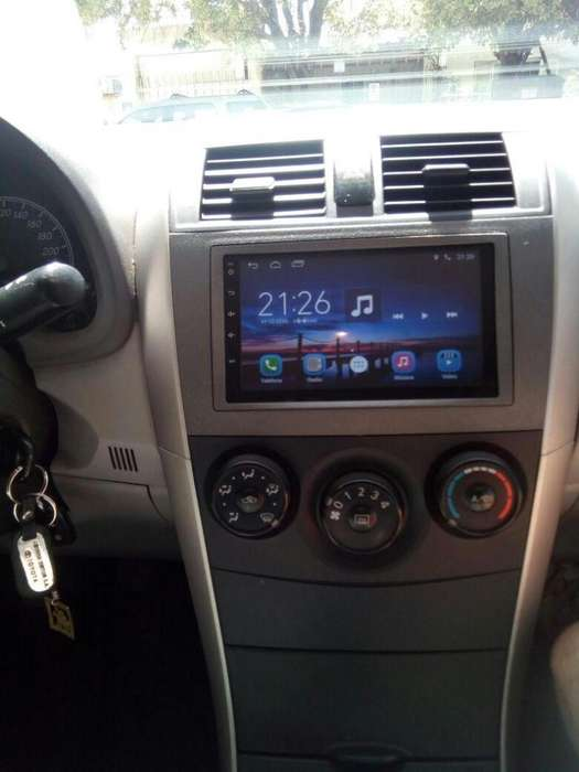 TOYOTA COROLLA ESTEREO CENTRAL MULTIMEDIA STEREO CON ANDROID, GPS, BLUETOOTH