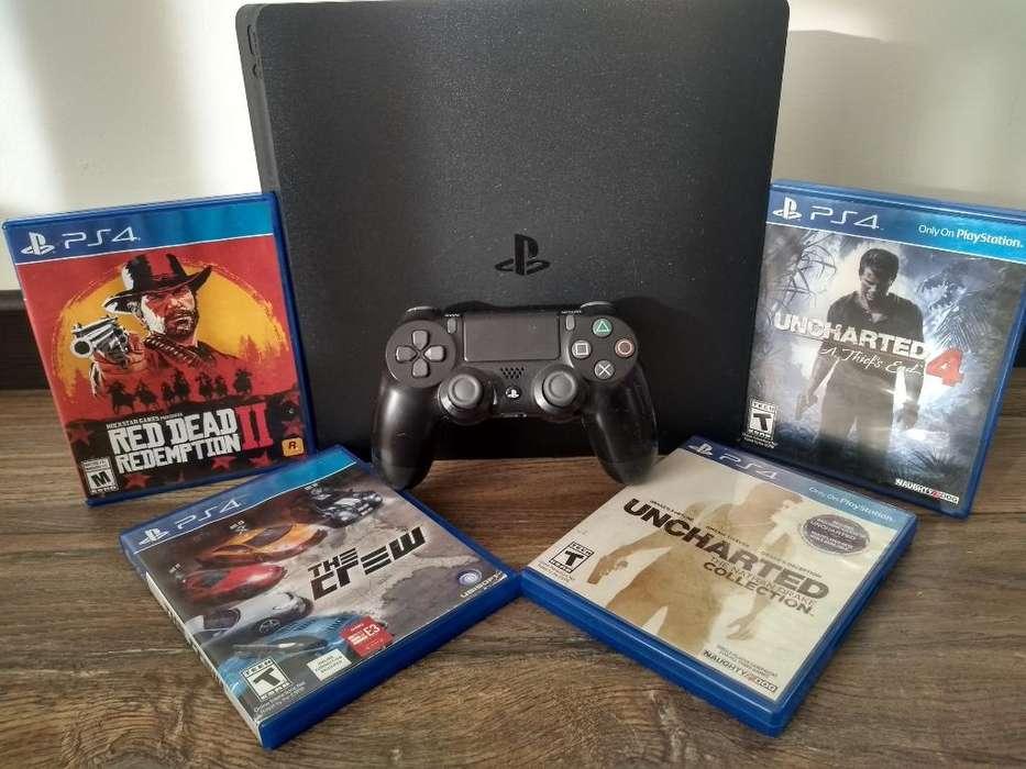 Vendo Playstation4 Poco Uso Buen Estado