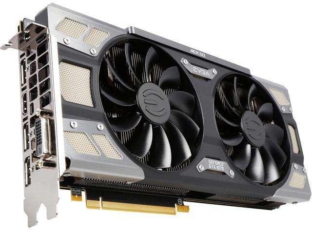 Evga Nvidia Geforce Gtx 1070 Sc 8gb Gddr5 8k Uhd / 4k