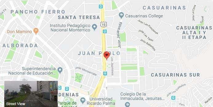 Venta de Terreno en Santiago De Surco