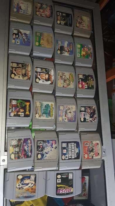 Remate Oferta Juegos N64 Nintendo 64