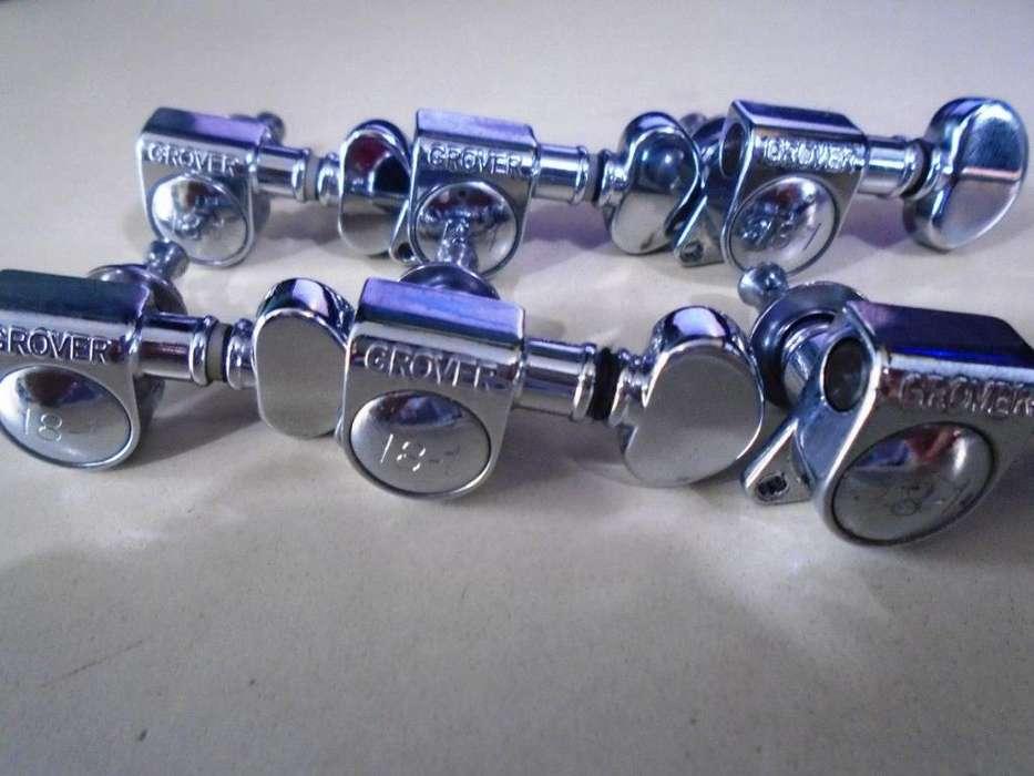 Clavijeros Grover Para Guitarra Electrica Rotomatic 81