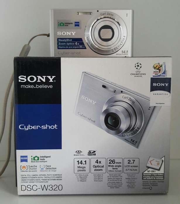 Cámara digital Sony DSC-W320 (Ciber-Shot)