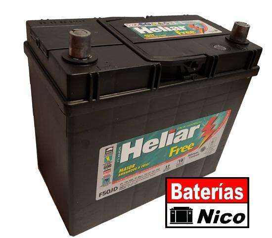BATERÍA HELIAR 12X50 (HONDA CIVIC)