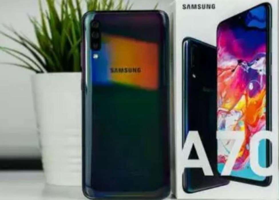 Samsung A70 128gb Y 128gb Sd Como Nuevo