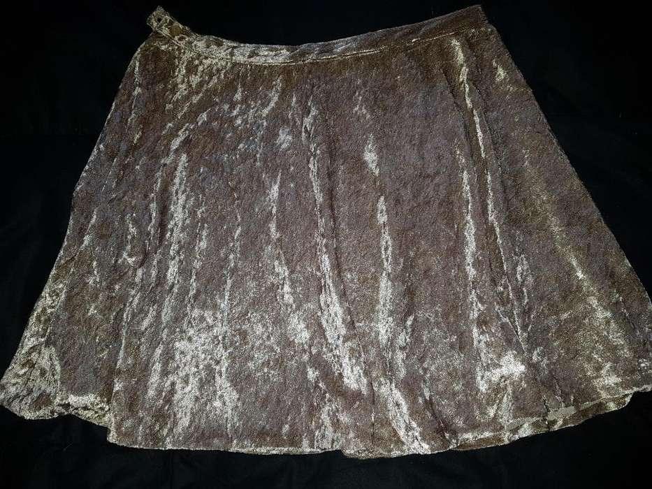 Minifalda de Plush